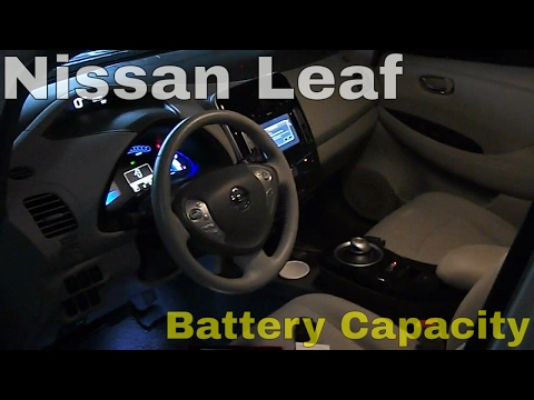 2017 Nissan Leaf How To Easily Check Your Cur Battery Capacity You