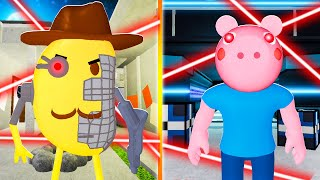 ROBLOX PIGGY EXTREME OUTPOST & EXTREME DISTORTED PLANT MAPS!