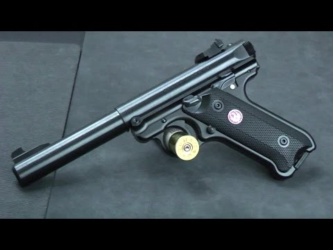 Ruger Mark IV Target - the latest in the