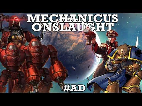 Mechanicus Onslaught - Warhammer 40k Gladius w/ Digby, Zoran, Digi & Cadians |