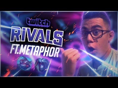 Practicing for Twitch Rivals - ft. Metaphor