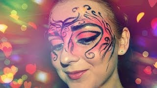 ♥ Halloween Makeup tutorial ♥ от MakeupKaty