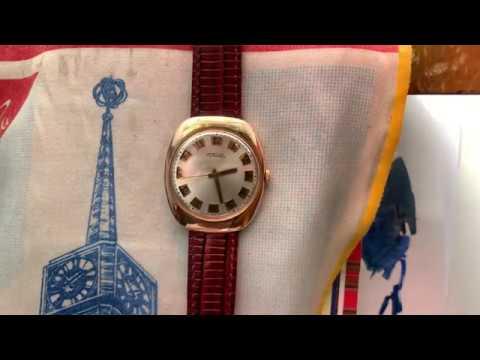 """Видеообзор на массивные золотые часы Ракета-""""лепешка"""" 2609.НА"""