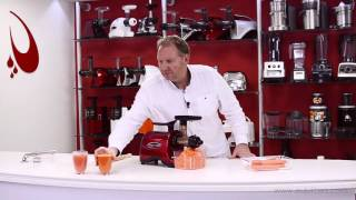 Omega Twin Gear Juicer TWN32S - Product Overview
