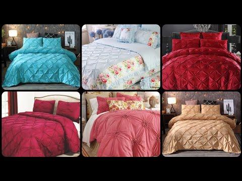 Full/ Queen Pinch Pleat Duvet  Cover Set/ Fascinating Bedding Sets
