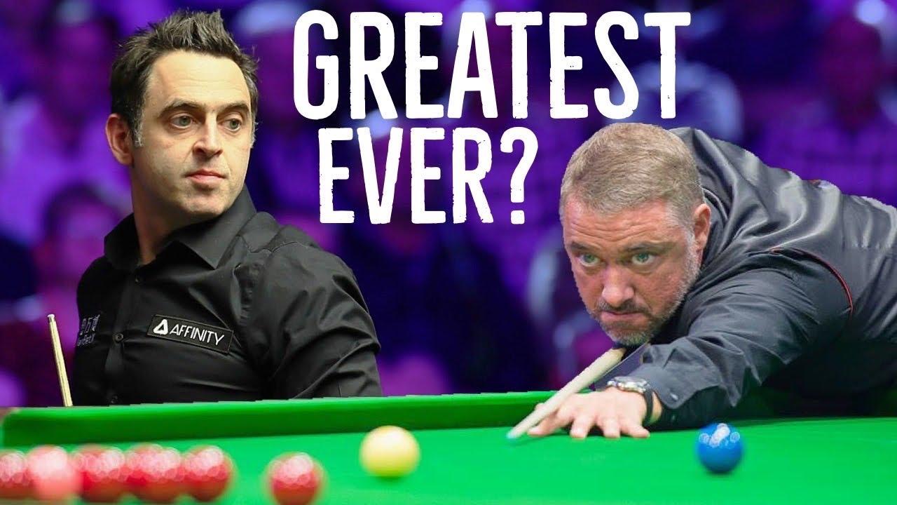 Stephen Hendry Vs Ronnie O'Sullivan Best Snooker Shots Recreated