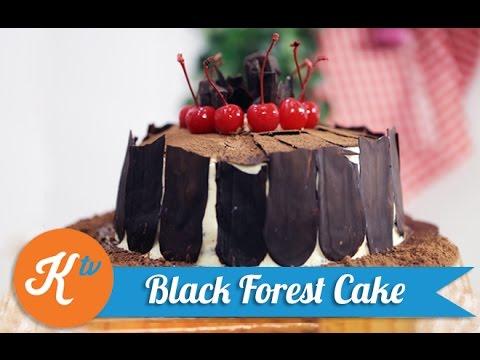 Resep Kue Black Forest   WINA BISSETT