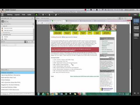 Pennsylvania Youth Survey Webinar Series: Introducing and Using the PAYS Guide and Workbook