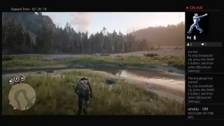 OUTLAW I RECKON IN RED DEAD REDEMPTION 2 ...  LIVE ONLINE STREAM.. whetto-599 ps4