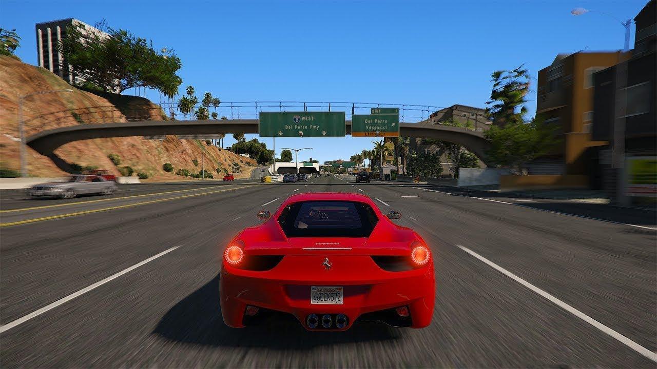 GTA 5 - NaturalVision Remastered Mod Showcase!