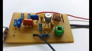#Радиомикрофон на 2-х транзисторах своими руками # Radio microphone on 2 transistors with own hands