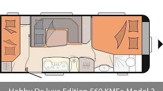 Hobby De luxe Edition 560 KMFe Model 2018