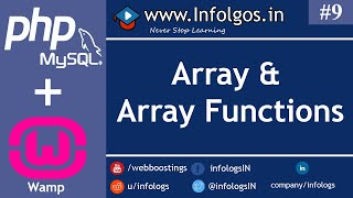 PHP - Array Function in PHP - Tutorial 9