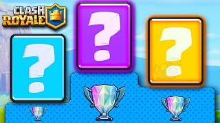 These are the TOP DECKS of Season 3 in Clash Royale!!