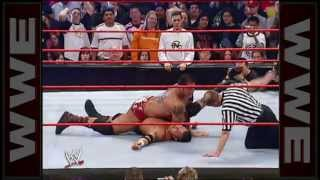 Randy Orton vs Batista, Raw april 4th 2005