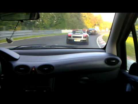 n rburgring in mercedes classe a 160 cdi w168 youtube. Black Bedroom Furniture Sets. Home Design Ideas
