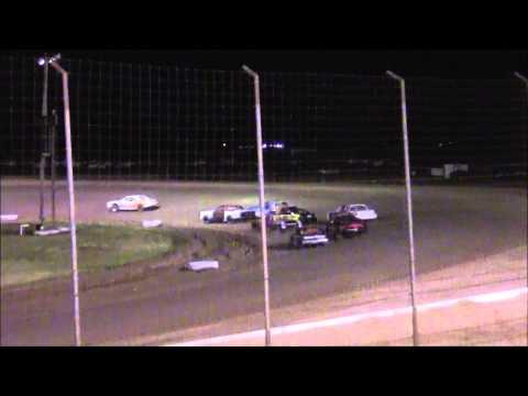 IMCA I Stocks @ lubbock Speedway 6-5-15