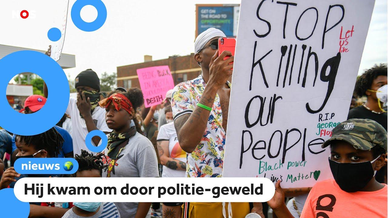 Download Grote protesten na dood zwarte man