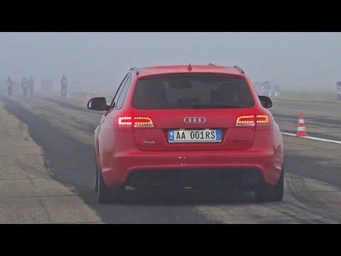 1000HP Audi RS6 C6 LA Performance - FAST Accelerations!