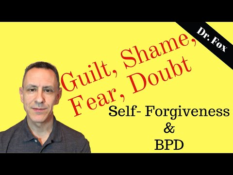 The Act And Challenge Of Self-Forgiveness And Borderline Personality Disorder