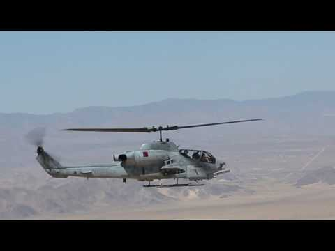 ITX 5-17 UH-1Y Huey Close Air Support Drills