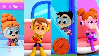 In A Minute Song For Kids | Nursery Rhymes For Babies | Cartoons Videos  by The Supremes