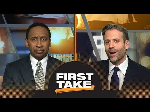 Stephen A. and Max react to Steph Curry's injury: What does it mean for Rockets? | First Take | ESPN