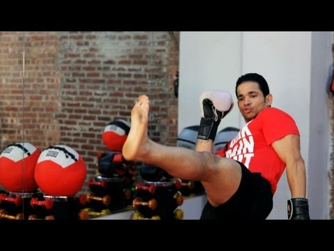 How to Do a Front Kick | Kickboxing Lessons
