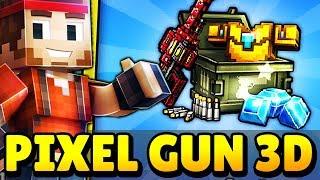 SUPER CHALLENGE W PIXEL GUN 3D! NOWE KONTO + GRAM NA TELEFONIE