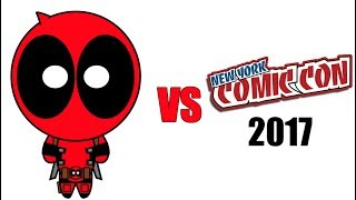 Download Deadpool vs New York Comic Con NYCC 2017 Mp3 and Videos