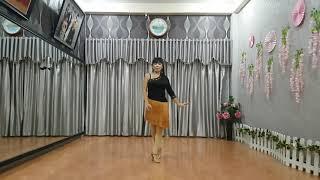 往日的旧梦/Wang Re De Jiu Meng-Line Dance-Tutorial-@Hui Chin,Fu-@Swee Poh Lim