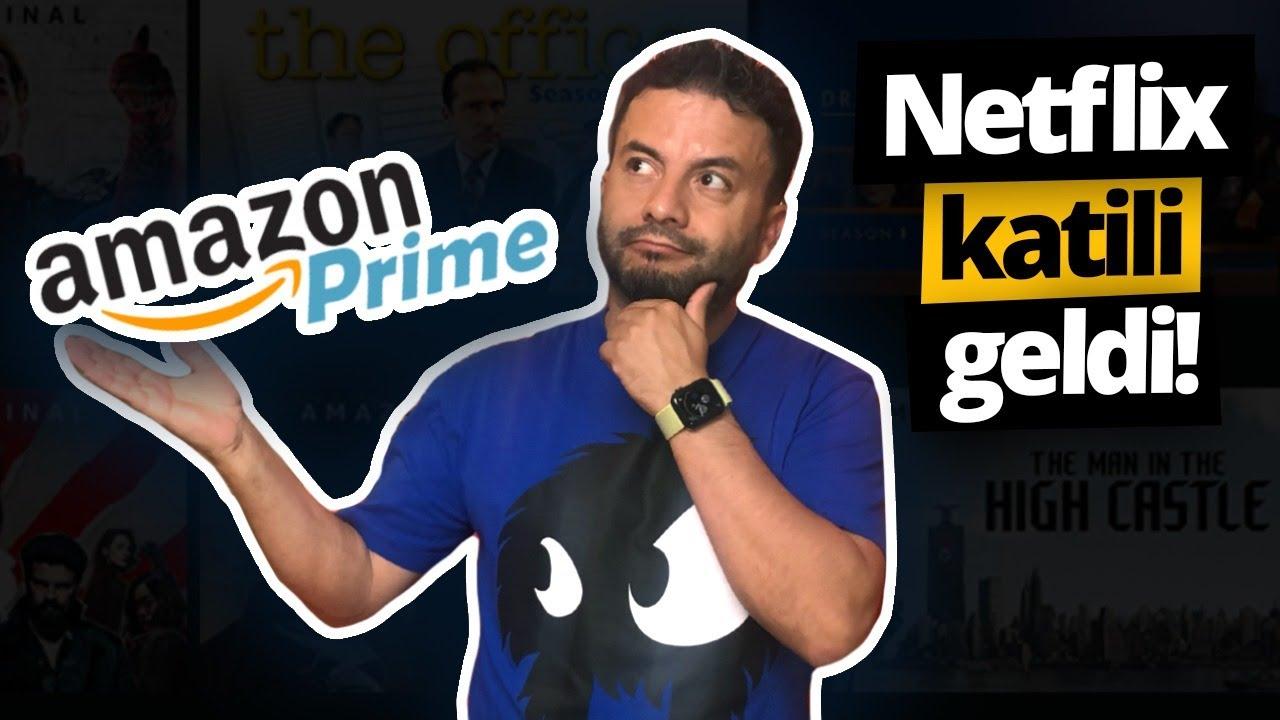 Amazon Prime Türkiye'de! - İşte Netflix'in katili ve 8 TL fiyatı!