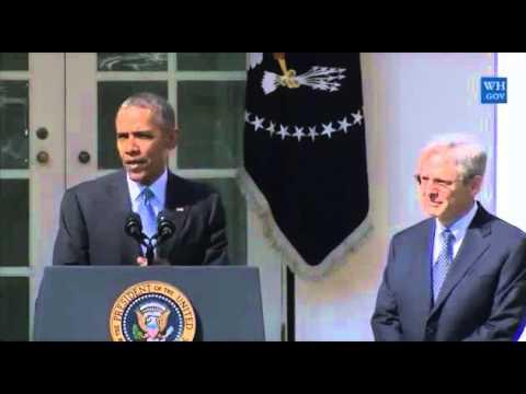 Pres. Obama nominates D.C. Circuit Court judge Garland to replace Scalia