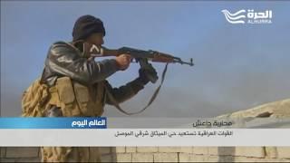 3 كيلومترات تفصل القوات العراقية عن مطار الموصل
