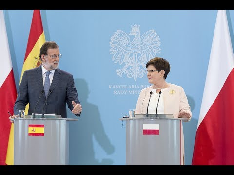 Beata Szydło and Mariano Rajoy – joint press conference [English subtitles]