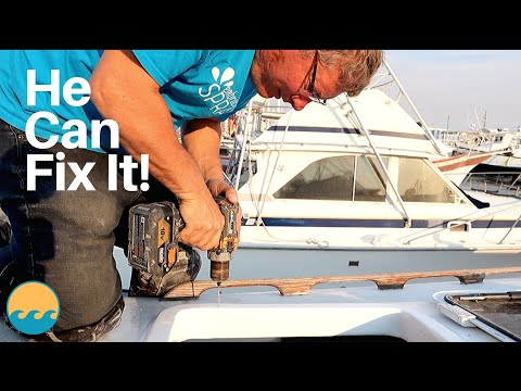 Installing Our Bomar Hatches (ep#112 ) Family Sailboat