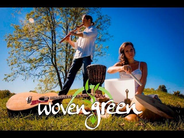 Woven Green Promo