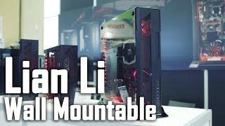 Lian Li Aluminum + Glass Wall Mountable Cases Thumbnail