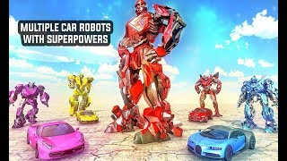 Super Robot Transformation: Robot Car Transform (By Turbo Dreamz) | Android Gameplay