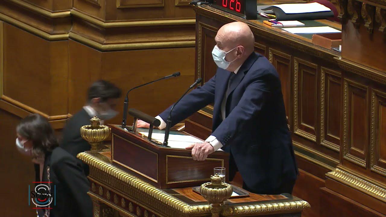 Claude MALHURET : Projet de loi confortant le respect des principes de la République