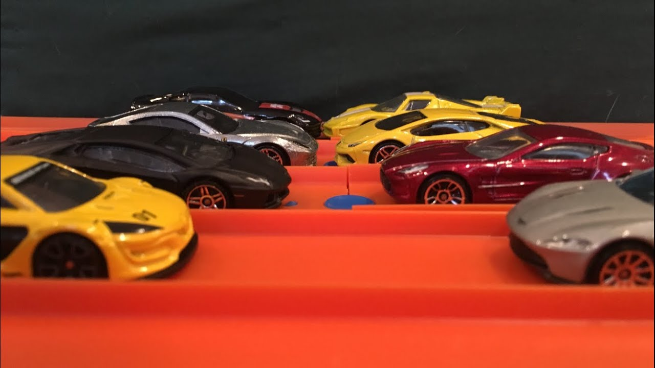 Hot Wheels Super Cars Ft Lamborghinis Aston Martins And