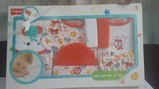 Fisher price infants gift set 9pcs Newborn baby gift sets