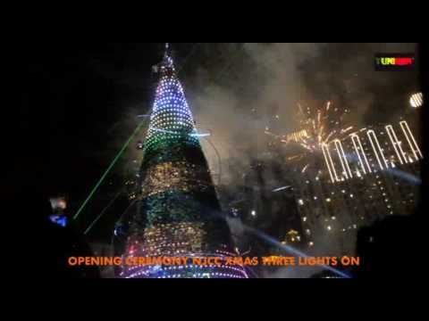 LIPUTAN EXCLUSIVE OPENING CEREMONY PENYALAAN LAMPU POHON