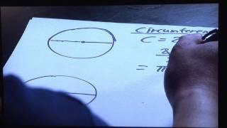 Basic Mathematics & Algebra : How to Find Perimeter of Semi Circle