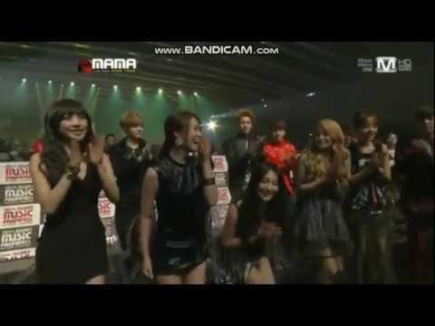 Kara win Best Global Female Group MAMA 2012