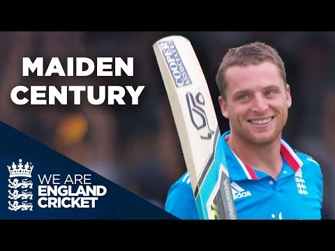 Jos Buttler Hits Record-Breaking Maiden Century in ODIs | England v Sri Lanka 2014 - Highlights