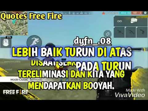Kata Kata Bijak Free Fire Youtube