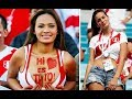 Beautiful and Hot girls fans in the World Cup. Russia 2018.