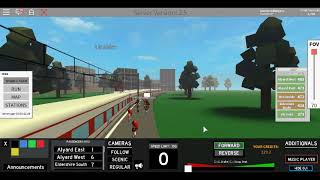 Roblox Terminal Railways ETR 460 Trenitalia Rozlyn South to Rozlyn Anti-Clockwise