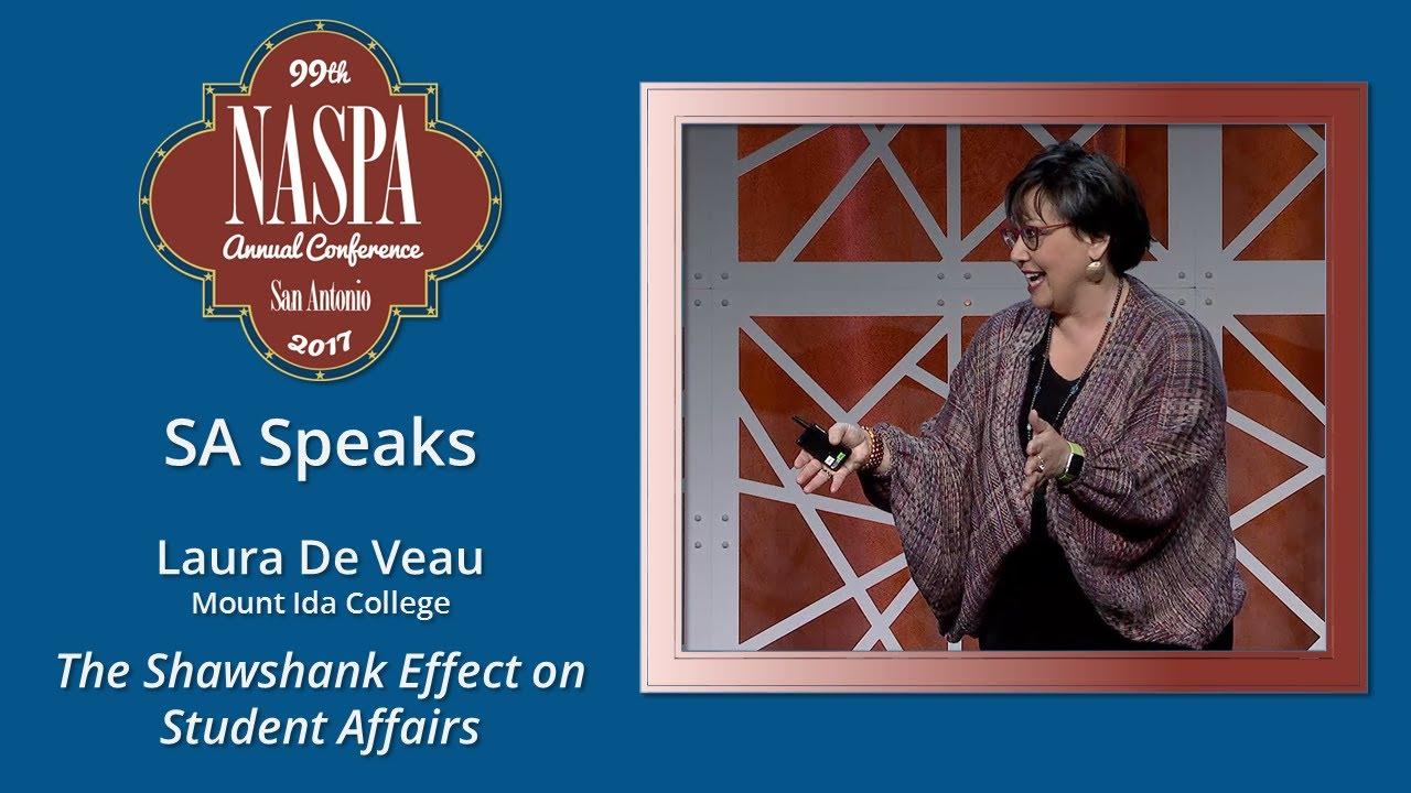 2017 NASPA Annual Conference SA Speaks - Laura De Veau (FULL HD)